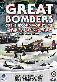Great Bombers Of The Second World War-dvd-brand new sealed