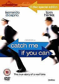Catch Me If You Can (DVD, 2003, 2-Disc Set) Leonardo DiCaprio Christopher Walken