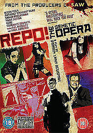 Repo-A-Genetic-Opera-DVD-2009-Mew-FREE-POSTAGE