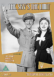 The Sky's The Limit (DVD, 2010)  new and sealed region 2  Fred Astaire