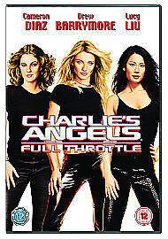 Charlie-039-s-Angels-Full-Throttle-DVD-2003-Excellent-DVD-Drew-Barrymore-Ja