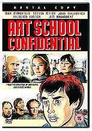 DVD Art School Confidential (2007) Steve Buscemi John Malkovich Jim Broadbent..