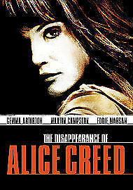 Disappearance Of Alice Creed (DVD, 2010) FREEPOST 5052433300023