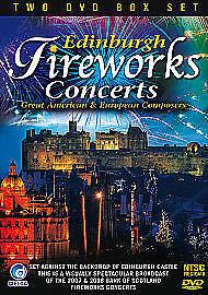 Edinburgh Fireworks 2007 & 2008 [DVD] BRAND NEW SEALED