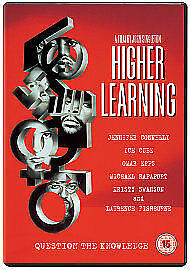 Higher Learning DVD Jennifer Connelly Ice Cube UK Release Brand New Sealed R2