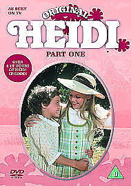 Heidi - Series 1 - (DVD, 2004) - RARE TV Series - Vintage - NEW & SEALED