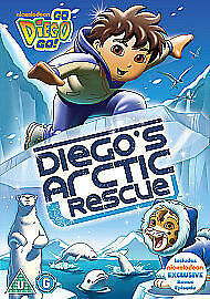 Go Diego Go! Diego's Arctic Rescue [DVD] New and Sealed
