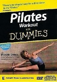 Pilates Workout For Dummies (DVD, 2002) R4 BRAND NEW SEALED - FREE POST!