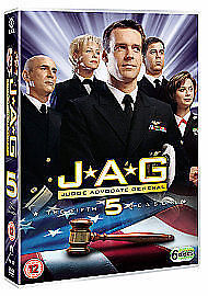 JAG - Series 5 (DVD, 2009, 6-Disc Set, Box Set)