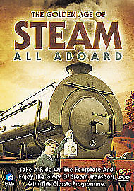 The Golden Age Of Steam - All Aboard - DVD - BRAND NEW SEALED