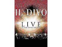 Il DIVI LIVE AT THE GREEK THEATRE DVD NEW!
