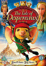 Kids DVD  The Tale Of Despereaux DVD 2009 - <span itemprop=availableAtOrFrom>livingston, United Kingdom</span> - All goods can be returened within 7 days of receving them. Please email before sending goods back if any parts are damaged please email and replacement parts will be sent out. Most pur - livingston, United Kingdom