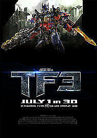 Transformers - Dark Of The Moon Blu Ray New Sealed Free UK Post