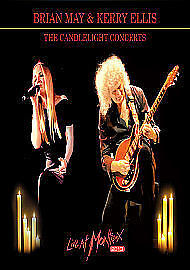 BRIAN-MAY-KERRY-ELLIS-THE-CANDLELIGHT-CONCERTS-LIV-DVD-NEW