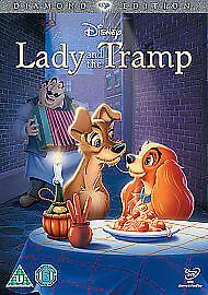Lady And The Tramp (DVD, 2012) Walt Disney R2 8717418337568