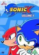 Sonic x DVD