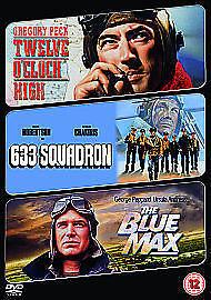 Twelve O' Clock High/633 Squadron/The Blue Max [DVD] - DVD