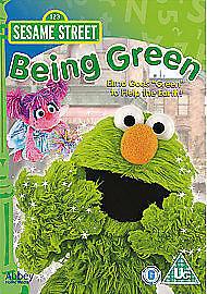 SESAME STREET BEING GREEN DVD ELMO GOES GREEN TO HELP EARTH KIDS