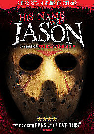 HIS NAME WAS JASON: 30 YEARS OF FRIDAY THE 13TH NEW DVD