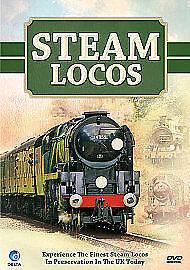 Steam Locos - DVD - BRAND NEW SEALED