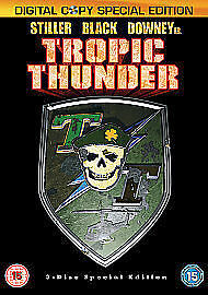 Tropic Thunder (3-Disc Directors Cut) [DVD], Good Used DVD, Bill Hader, Jack Bla