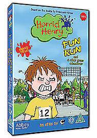 Horrid Henry  Fun Run DVD 2010 - <span itemprop=availableAtOrFrom>DUMBARTON, West  Dunbartonshire, United Kingdom</span> - Horrid Henry  Fun Run DVD 2010 - DUMBARTON, West  Dunbartonshire, United Kingdom