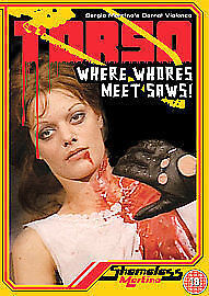 Torso (DVD, 1973) Suzy Kendall, Sergio Martino   Giallo Horror