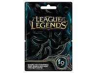 League of legends 9 pound card