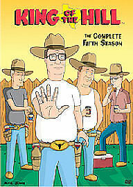 King Of The Hill - Series 5 (DVD, 2007, 4-Disc Set, Box Set) reg 2