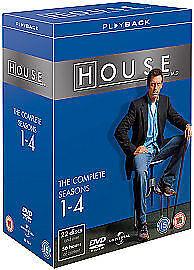 House - Series 1-4 - Complete (DVD, 2008, 22-Disc Set, Box Set)