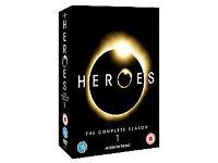 heroes dvd box set new pick up from alford like new season 1