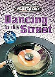 Startrax Karaoke DANCING IN THE STREET DVD UK REGION 2 NEW & SEALED FAST P&P