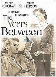 The Years Between Dvd Michael Redgrave Brand New & Factory Sealed