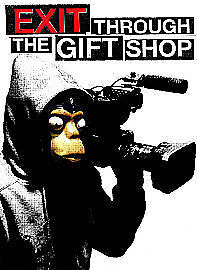 Exit Through The Gift Shop [DVD] By BanksyAS NEW and Sealed Pristine