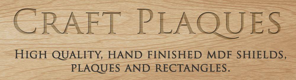 Craft Plaques
