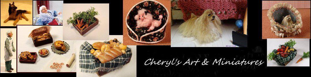 Cheryl's Art and Miniatures