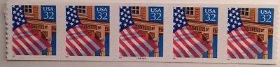 2915A   32 Flag Over Porch  Pnc5    44444A   Mnh