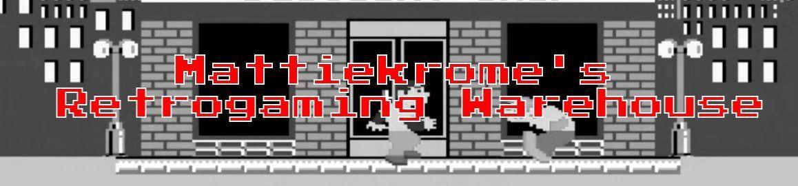 Mattiekrome's Retrogaming Warehouse