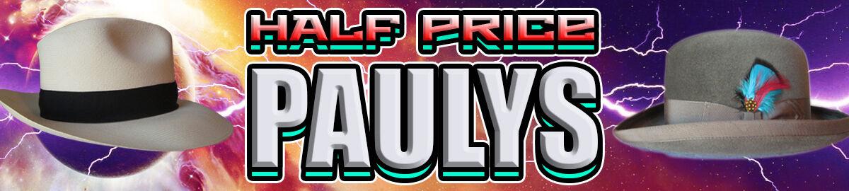 HALF PRICE PAULYS HATS
