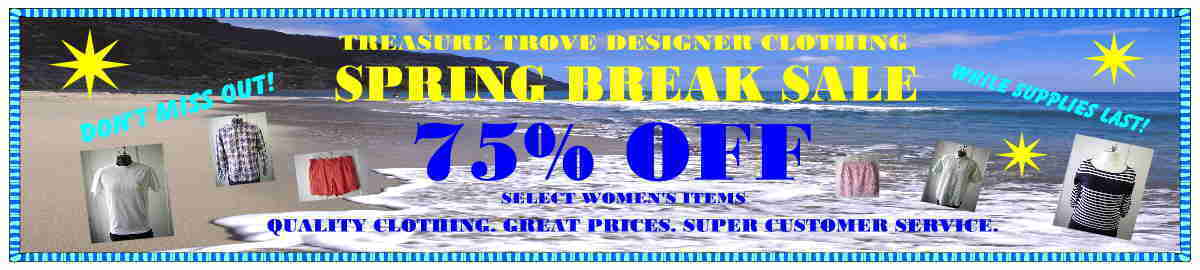 TREASURE TROVE DESIGNER CLOTHING