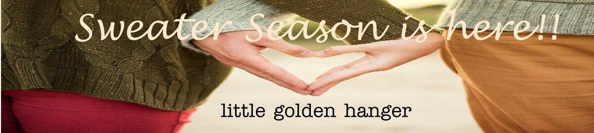 little golden hanger