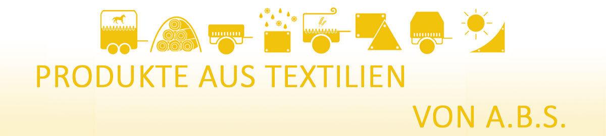 A.B.S. Produkte aus Textilien