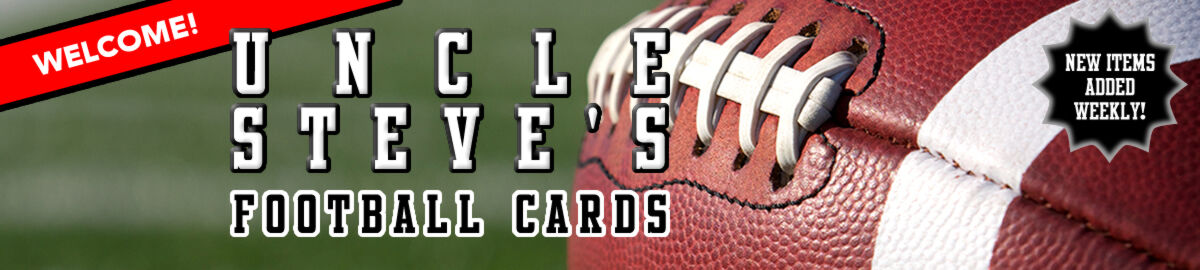 Uncle Steve's Football Cards