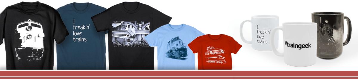 Rail Threads Train Shirts And Gifts