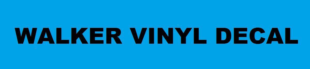 Walker Vinyl Decal