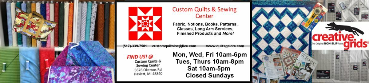 Custom Quilts & Sewing Center