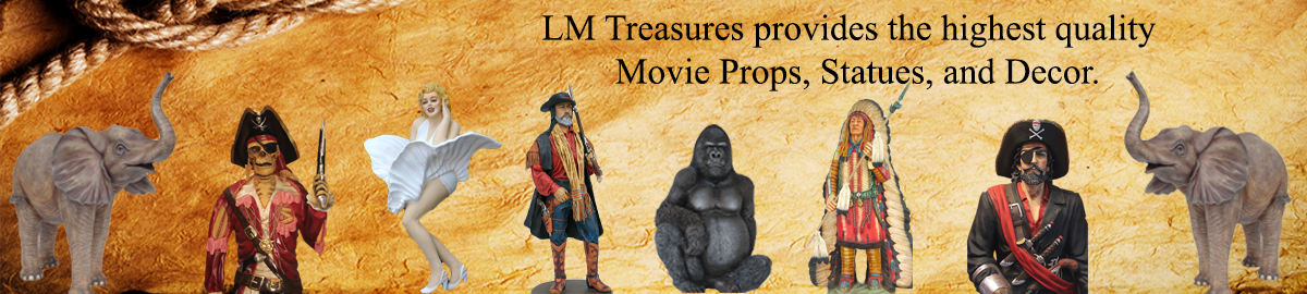 LMTREASURES LIFESIZE STATUES/ DECOR