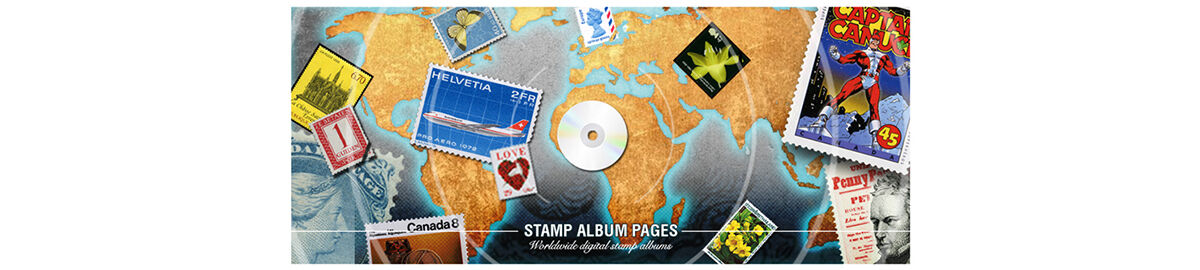 Stamp Album Pages