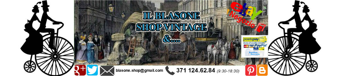 BLASONE SHOP VINTAGE E ANTIQUARIATO