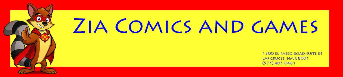 Zia Comics and Games